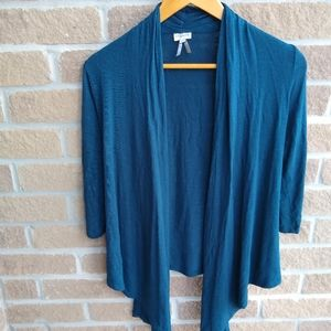 Dynamite Casual Long Sleeve Flowing Shrug Sweater